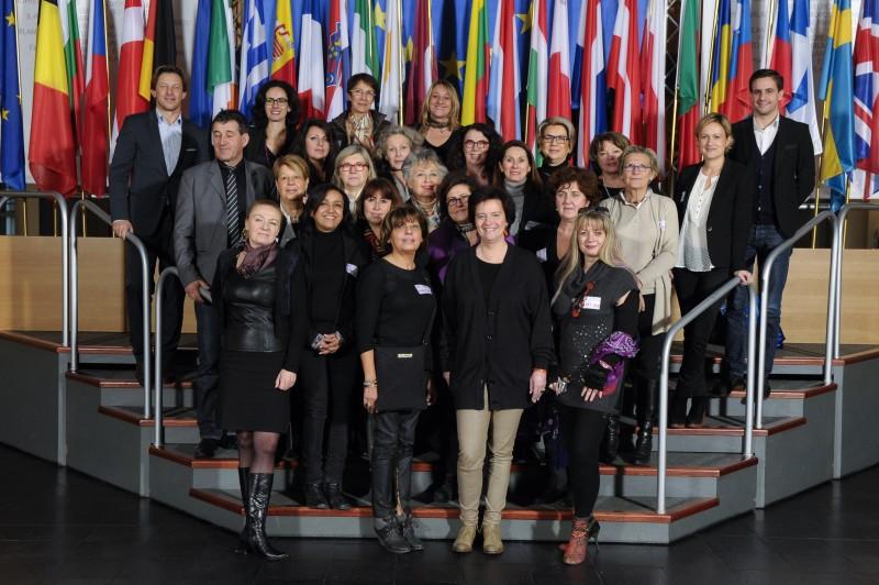 Chrisitne de Veyrac invite l'AFEE au Parlement Européen